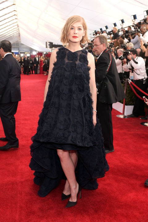Rosamund Pike in Dior Couture