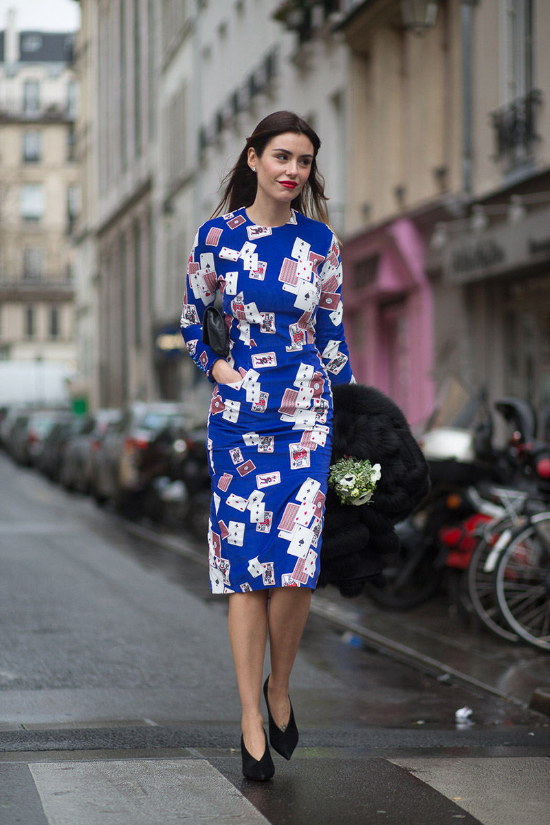 Street Style Haute Couture Spring 2015