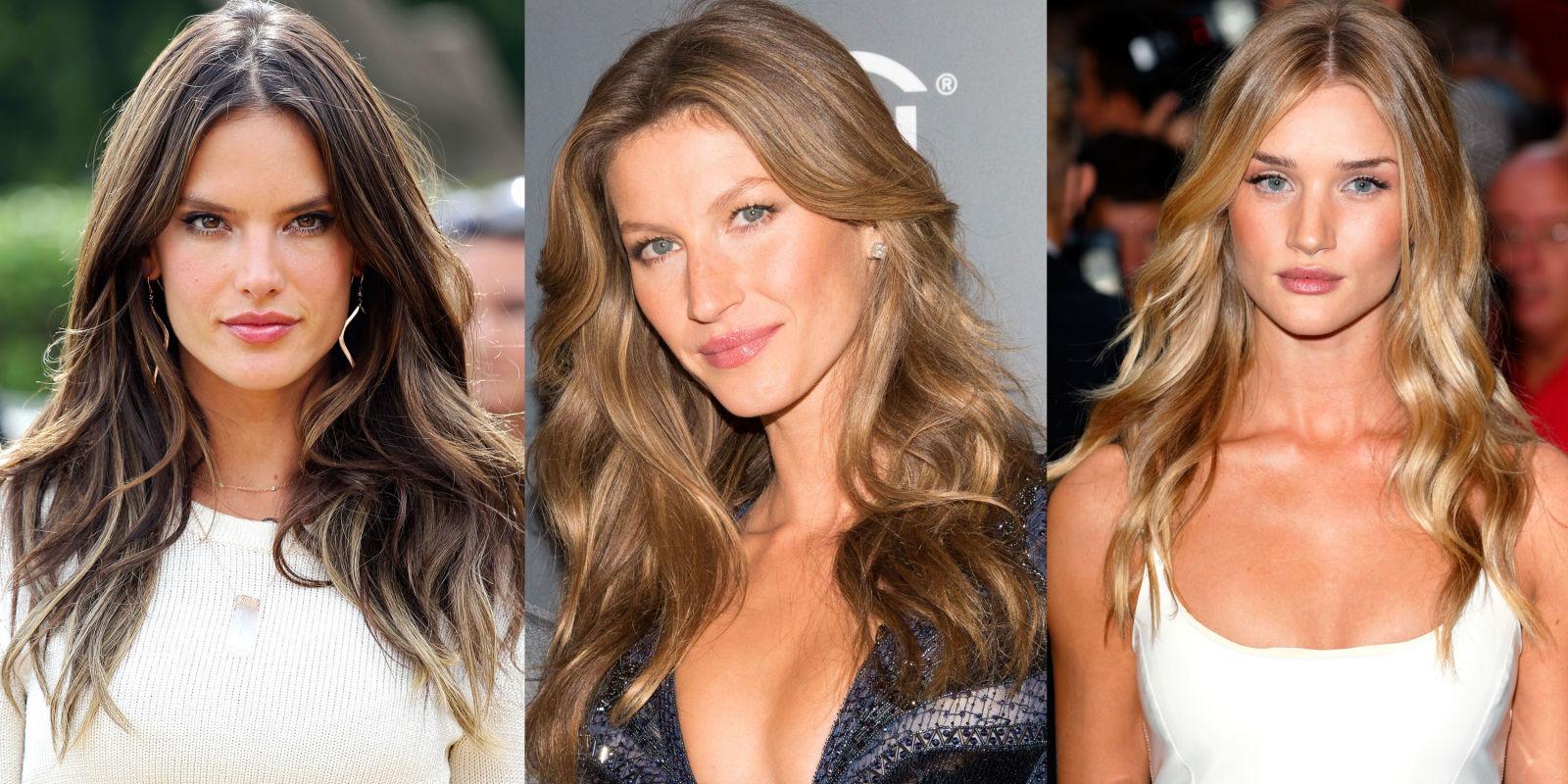 Прически для длинных волос звезд