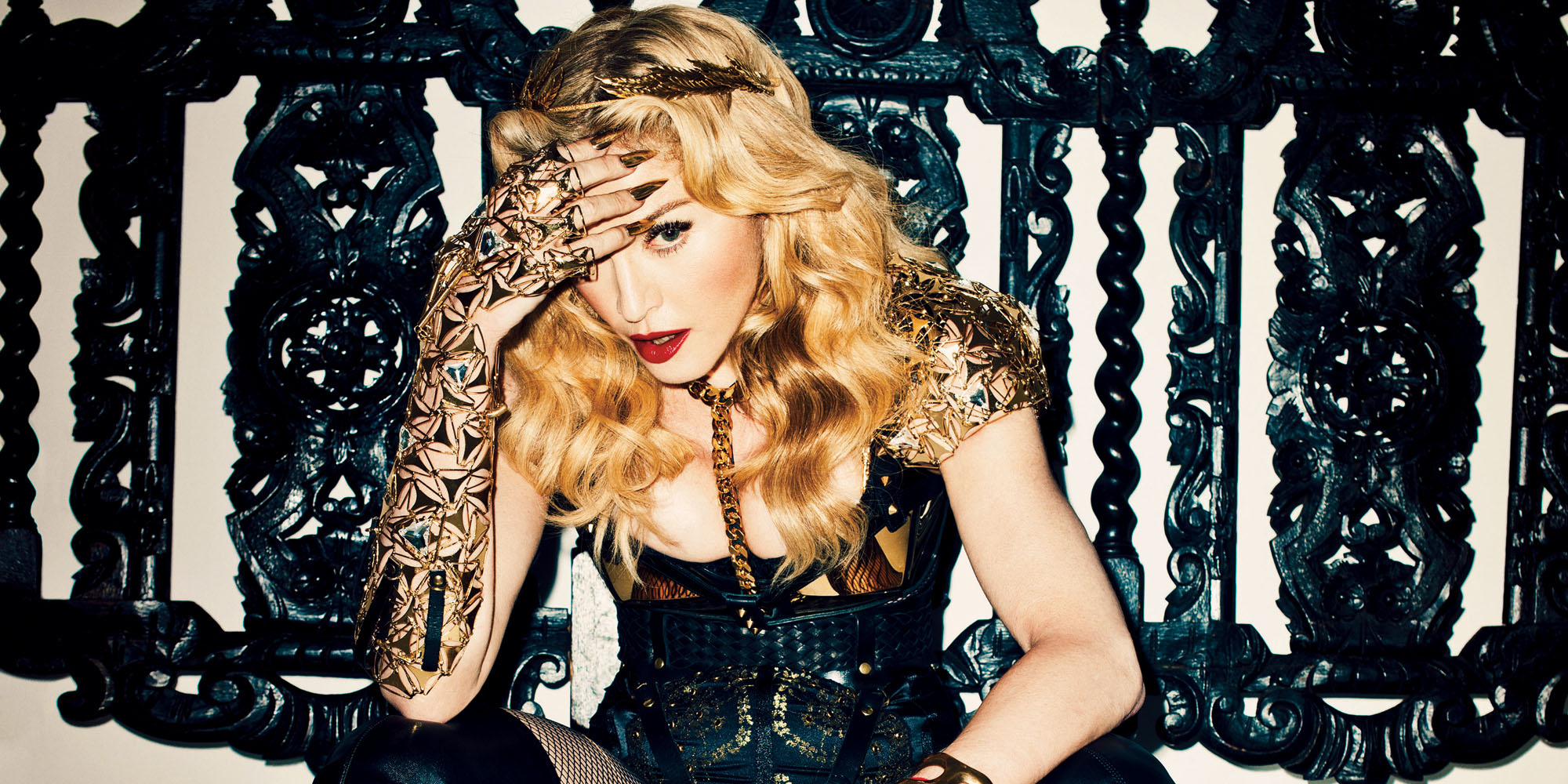 Madonna Ghosttown Video Madonna Rebel Hearst Album