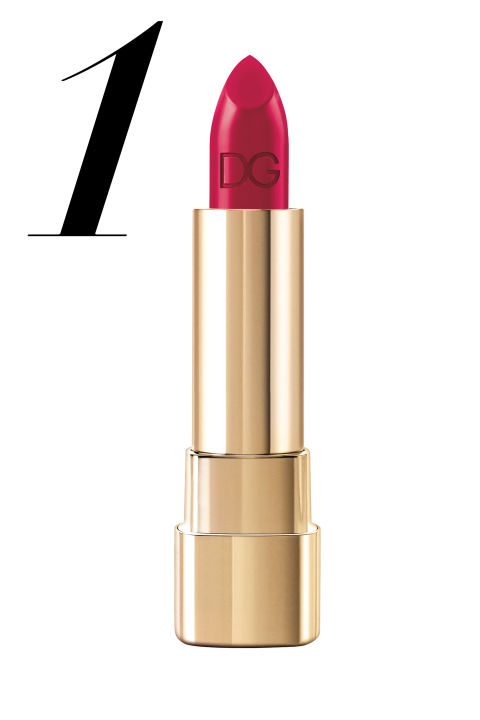 "<p><strong>Dolce&Gabbana</strong> Classic Cream Lipstick in Bouganville, $33.50, <a href=""http://www.saksfifthavenue.com/"">saksfifthavenue.com</a>.</p>"