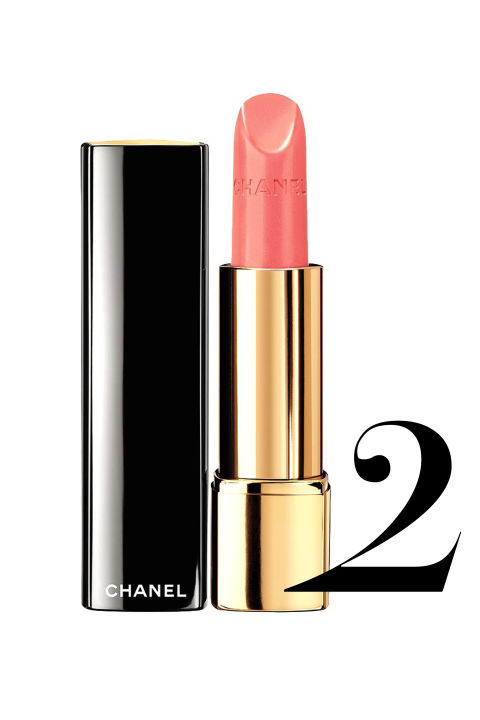 "<p><strong>Chanel</strong> Rouge Allure in Badine, $36, <a href=""http://www.chanel.com/en_US/fragrance-beauty/Makeup-88484"">chanel.com</a>.</p>"