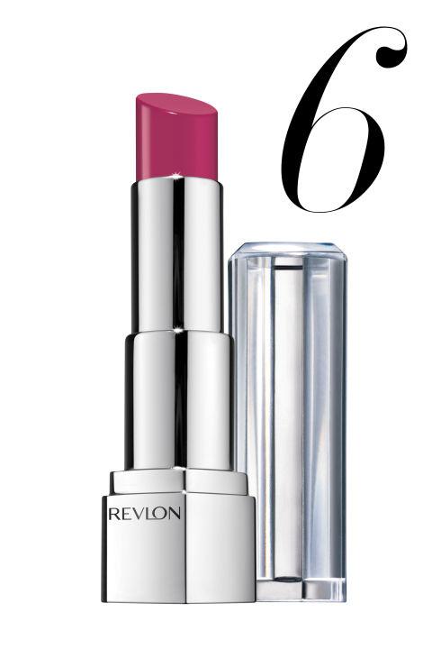 "<p><strong>Revlon</strong> UltraHD Lipstick in Iris, $8, <a href=""http://www.target.com/p/revlon-ultra-hd-lipstick/-/A-16200512?ref=tgt_adv_XSG10001&AFID=google_pla_df&LNM=16200512&CPNG=Health+Beauty&kpid=16200512&LID=17pgs&ci_src=17588969&ci_sku=16200512&kpid=16200512&gclid=CO2a9vS12MMCFcFr7AodnjQABw"">target.com</a>.</p>"
