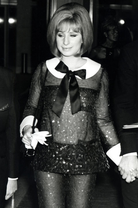 Barbra Streisand in Arnold Scassi for Funny Girl (she tied with Katharine Hepburn in The Lion in Winter this year)