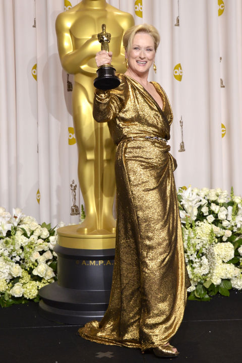 Meryl Streep in Lanvin for The Iron Lady