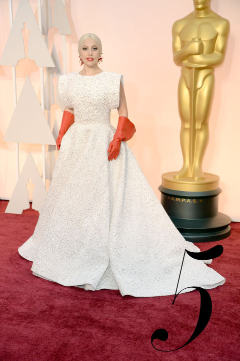 Making news is always an Oscars do, and Gaga and her courtier-collaborator Azzedine Alaia should be pleased with the famous designer's&amp;nbsp;Oscars&amp;nbsp;red carpet debut.&amp;nbsp;<br />