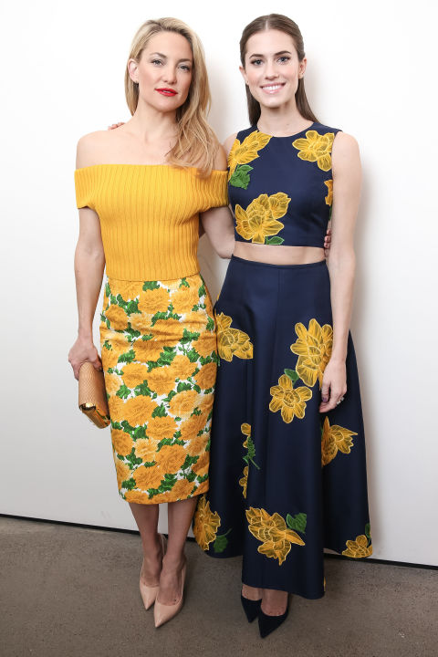 Kate Hudson and Allison Williams inMichael Kors