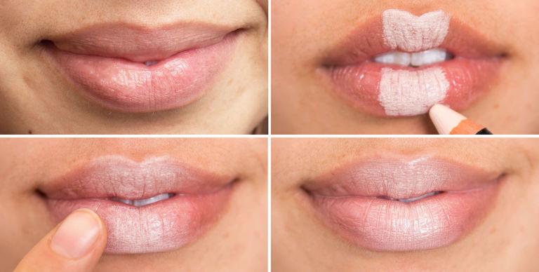 более крупные губы