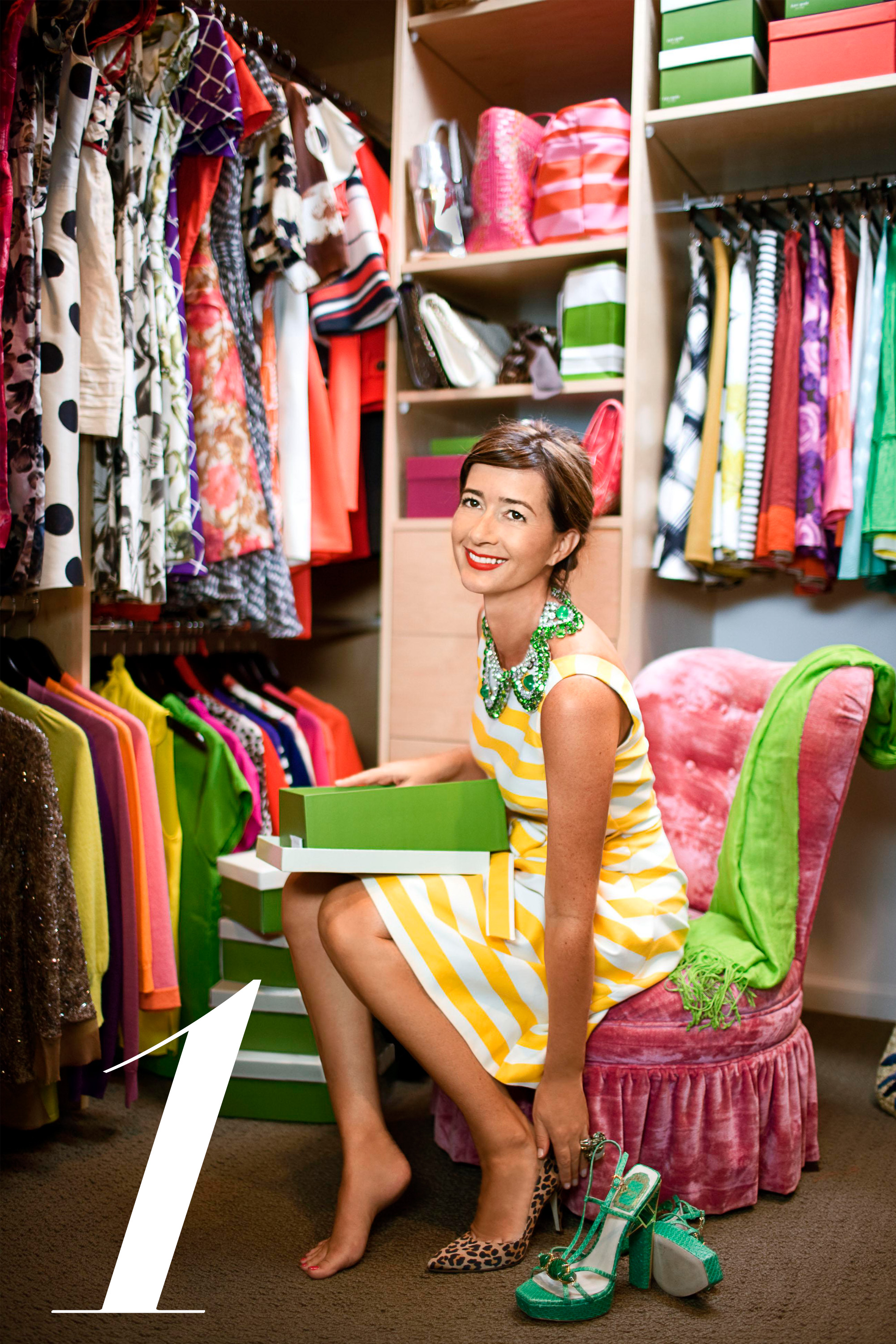 Best closets featured in harper s bazaar enviable fashion and