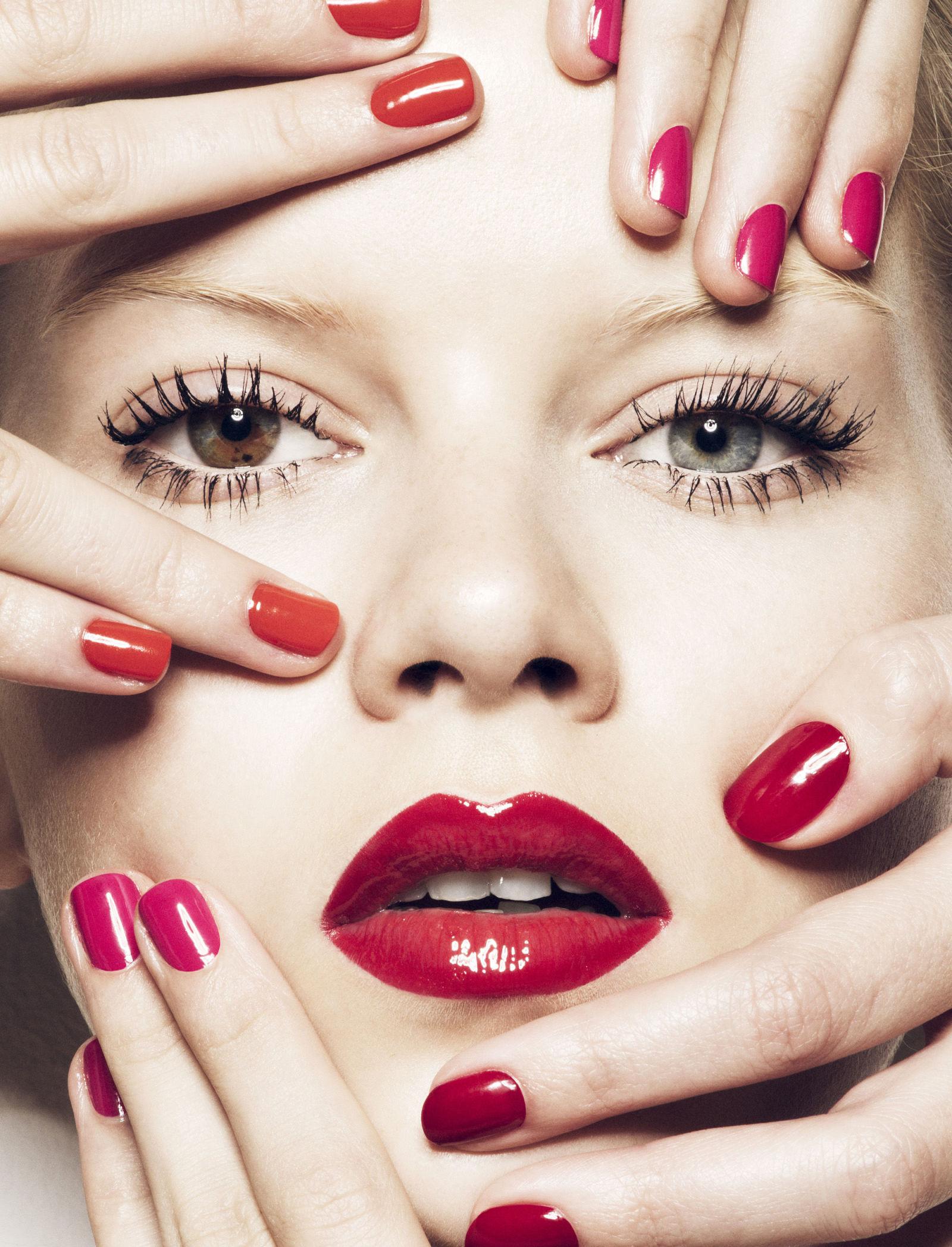Matching Nail Polish And Lipstick Combinations - Nail Colors For Spring 2015
