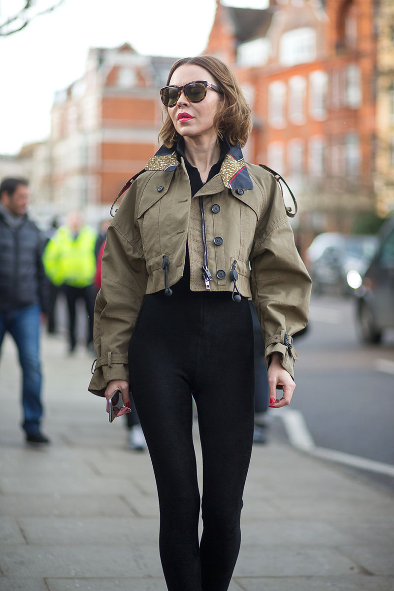 Best London Fashion Week Street Style Fall 2015 Street Style From London Fashion Week
