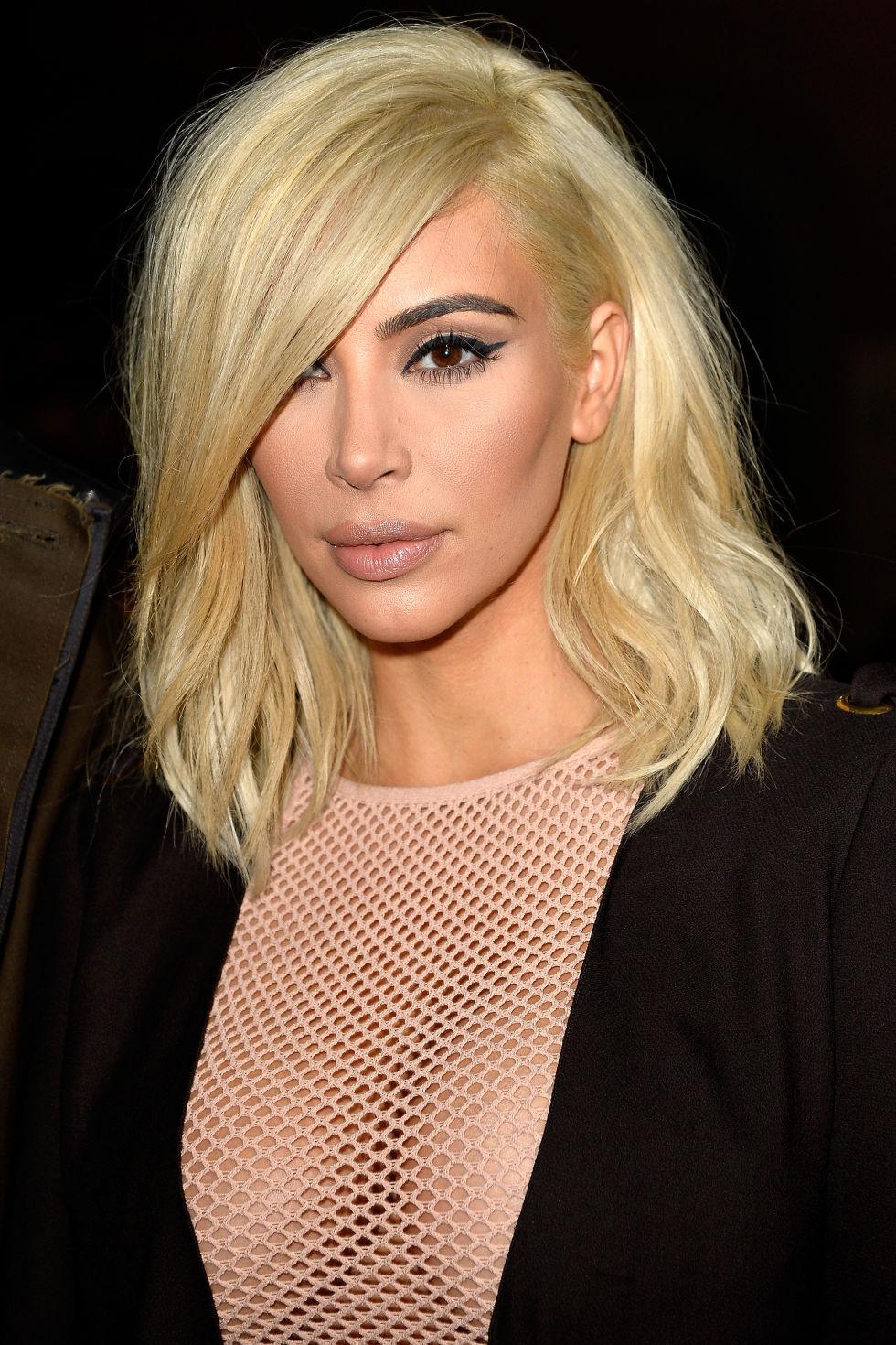 pictures of kim kardashian haircut