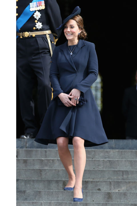 What: Beulah London coat When: March 13 Where: Attending a Service of Commemoration for British troops formerly stationed in Afghanistan at St. Paul's Cathedral