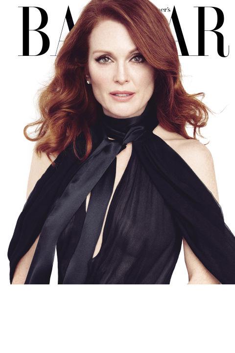 Джулианна Мур в Harper's Bazaar
