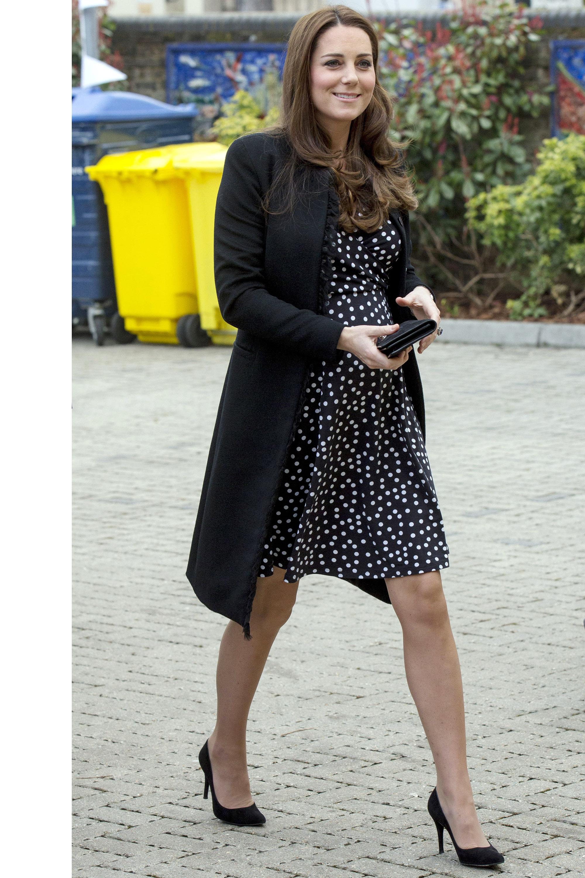 Kate Middleton Last Public Appearance Before Royal Baby Arrives Duchess Of Cambridge Maternity