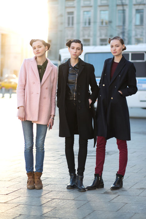 Best Street Style From Moscow Fashion Week Fall 2015 Russian Street Style