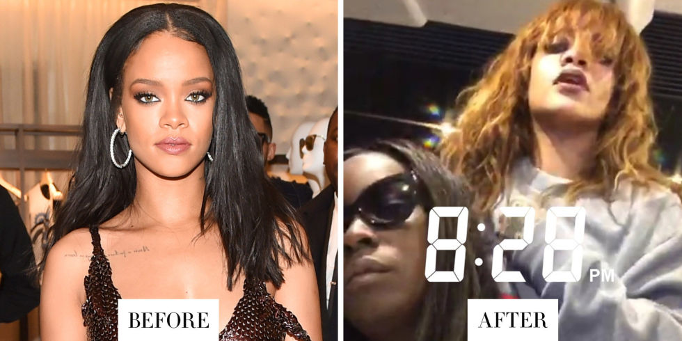 When: April 2015 What: Red Hair Why we love it: The singer showed off orange-red hair on Snapchat last night. It wouldn't be the first time she's dyed her hair that hue, but it's lighter than we've seen before and looks especially cool in beach waves and bangs.