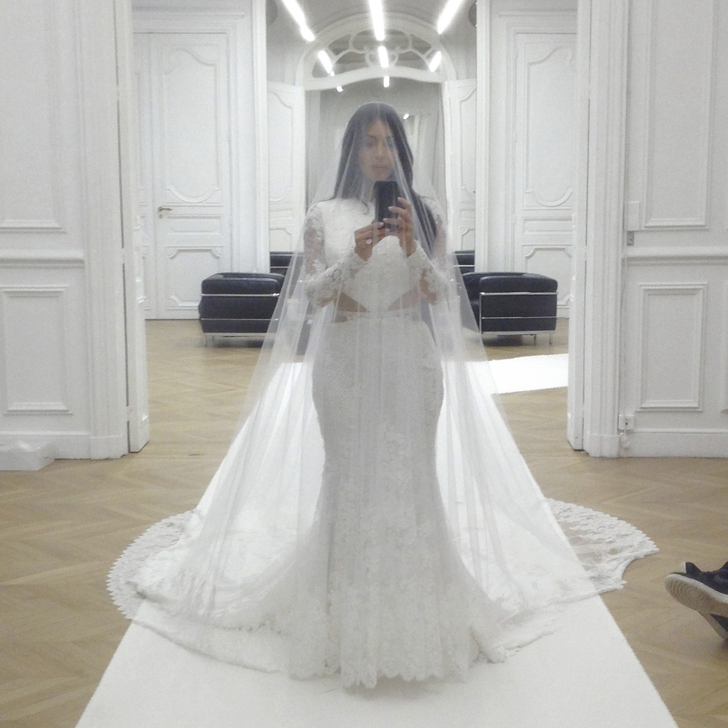 Kim K Wedding Gown: A Day In The Life Of Kim Kardashian