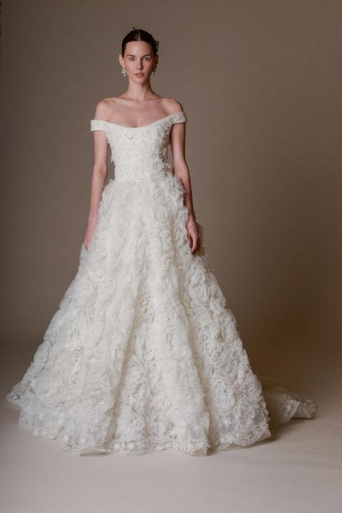 Marchesa A-line wedding dress