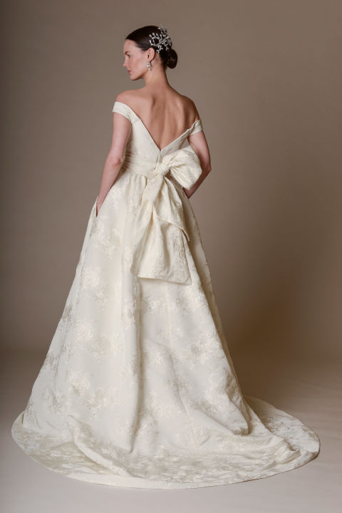 Marchesa A-line wedding dress