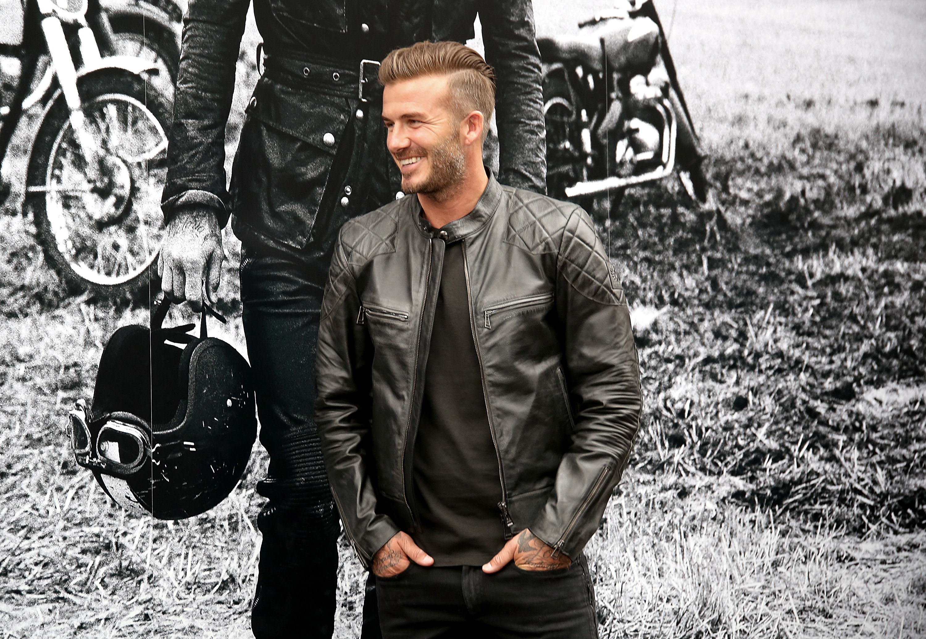 David Beckham 39 S Style Transformation Over The Years David Beckham Photos