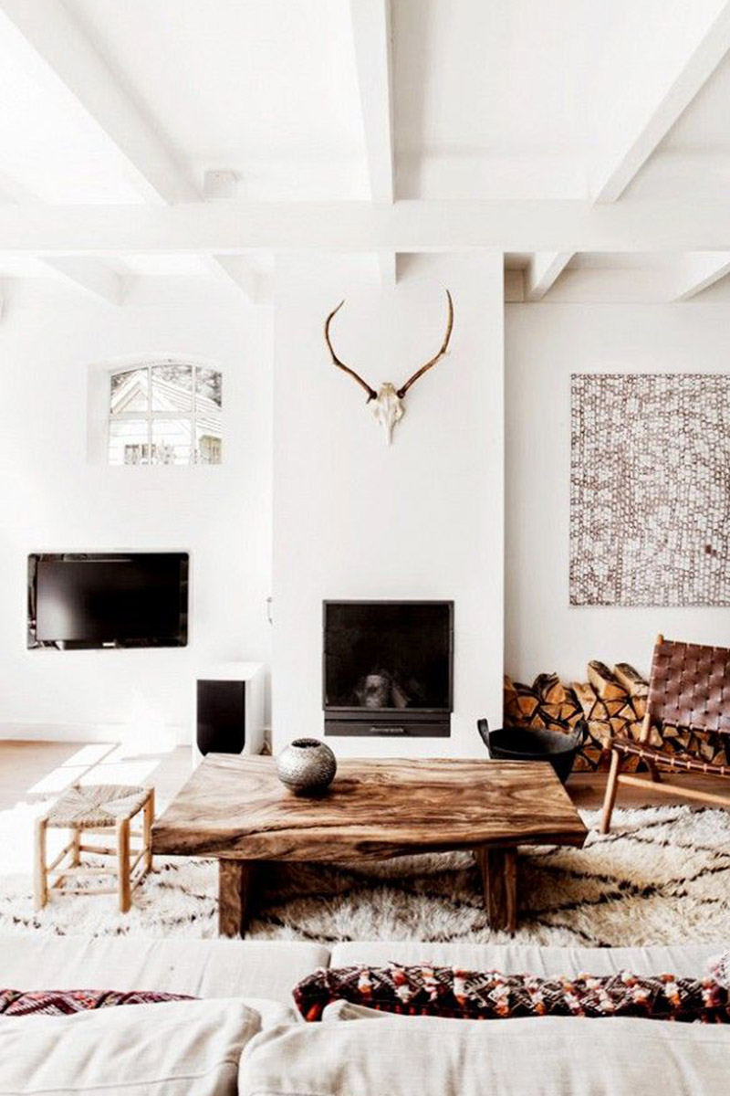 Rustic chic home decor and interior design ideas rustic for Interior inspiration