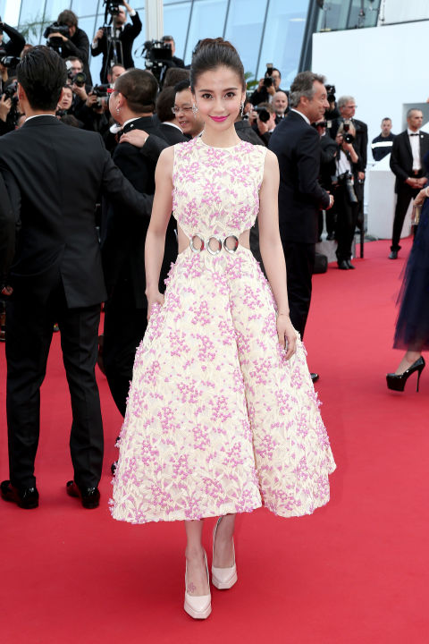 Angelababy in Christian Dior Couture