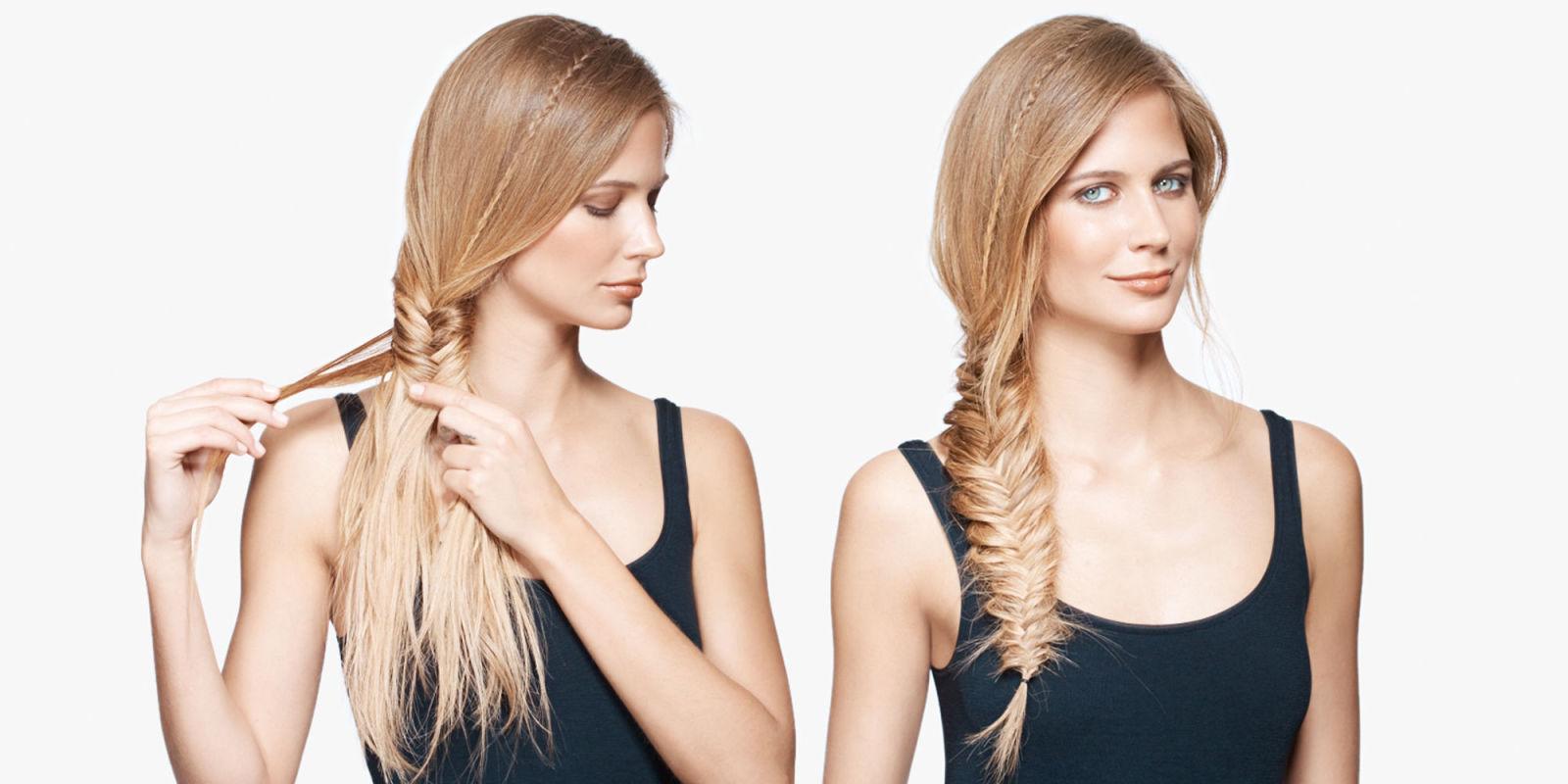 Sensational How To Do A Fishtail Braid Easy Bohemian Fishtail Braid How To Hairstyles For Men Maxibearus