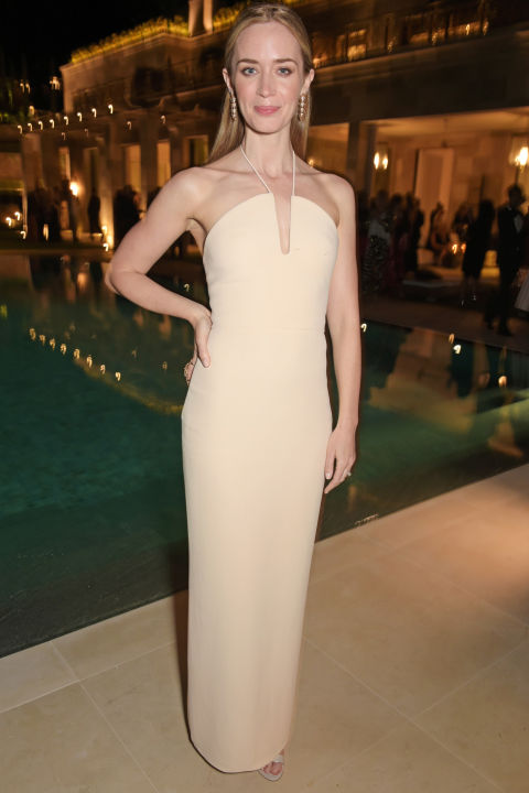 Emily Blunt in Calvin Klein Collection