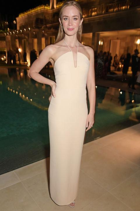 Emily Blunt in Calvin Klein Collection