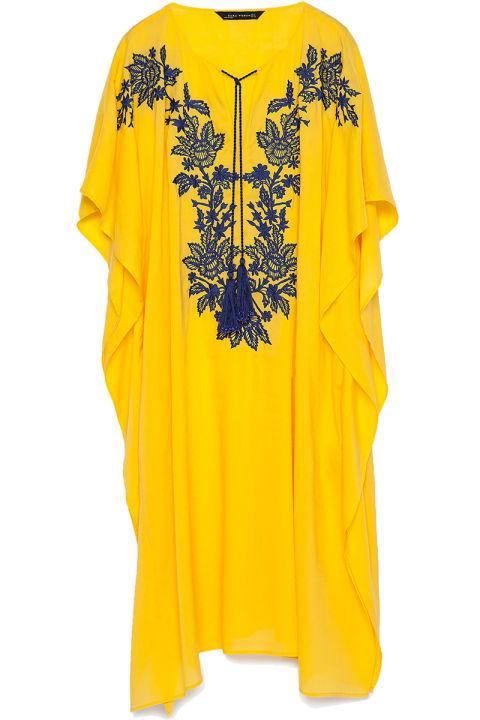 Zara caftan, $70, zara.com.<br />