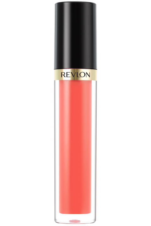 Revlon Super Lustrous Lip Gloss in Solar Coral, $7, available at mass retailers.