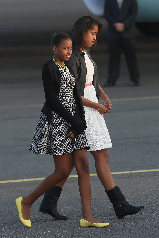 Sasha and Malia Obama's Best Fashion Looks - Style