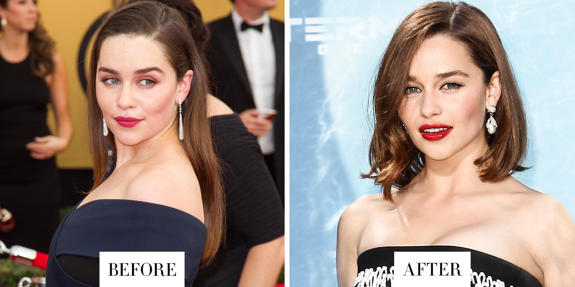 Strange Best Celebrity Haircuts And Color Of 2015 Celebrity Hair Short Hairstyles Gunalazisus