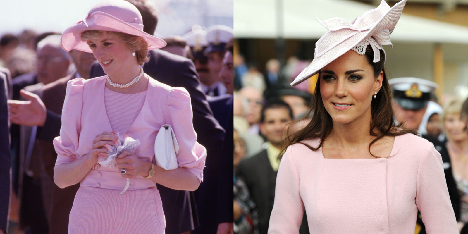 Princess Diana And Kate Middleton Have The Same Style