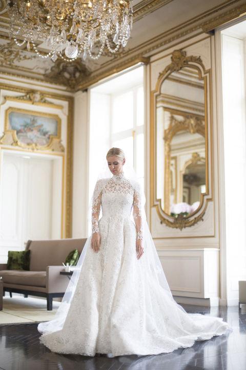 Nicky Hilton An Ultra Classy Bride In Her Stunning Valentino