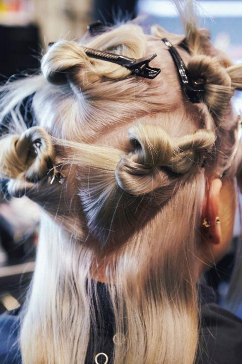 saçları ayırma