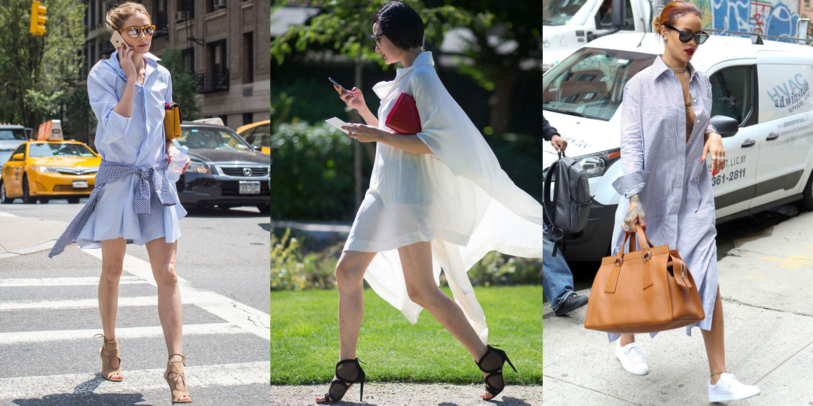 Celebrities sporting shirt dresses the simple shirt for Celebrity t shirts wholesale