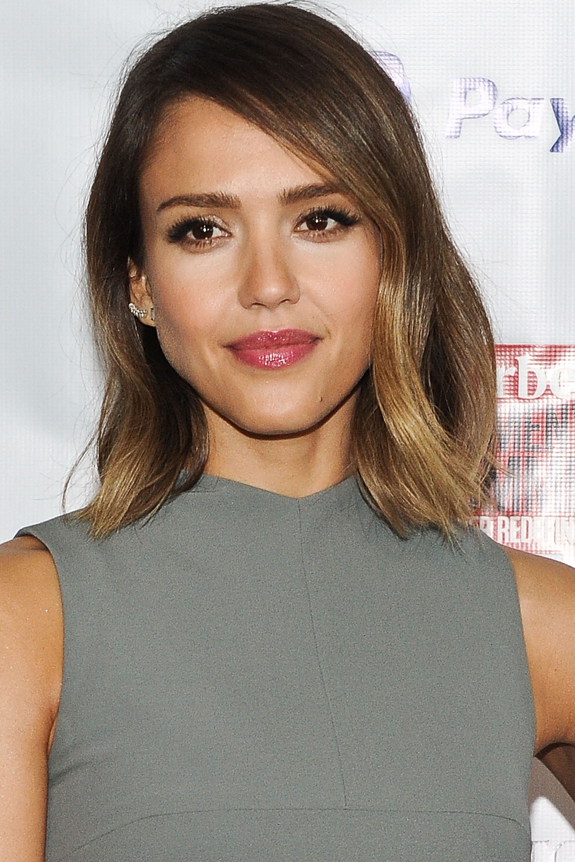 Best Bob and Lob Hairstyles for 2016 - Celebrity Long Bob ...Jessica Alba Lob