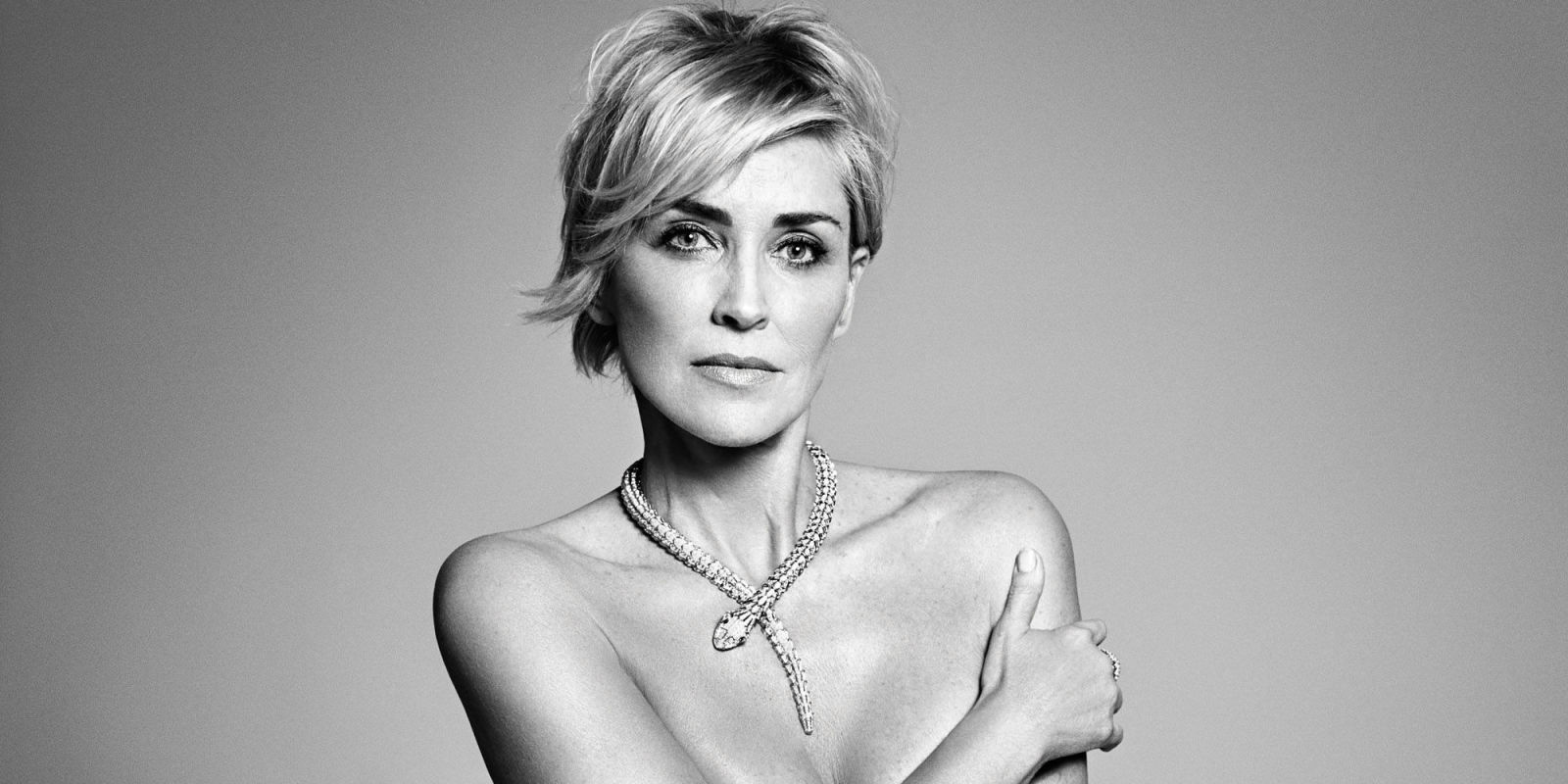 Sharon stone goes nude in harper 39 s bazaar september 2015 - Carmen bejarano ...
