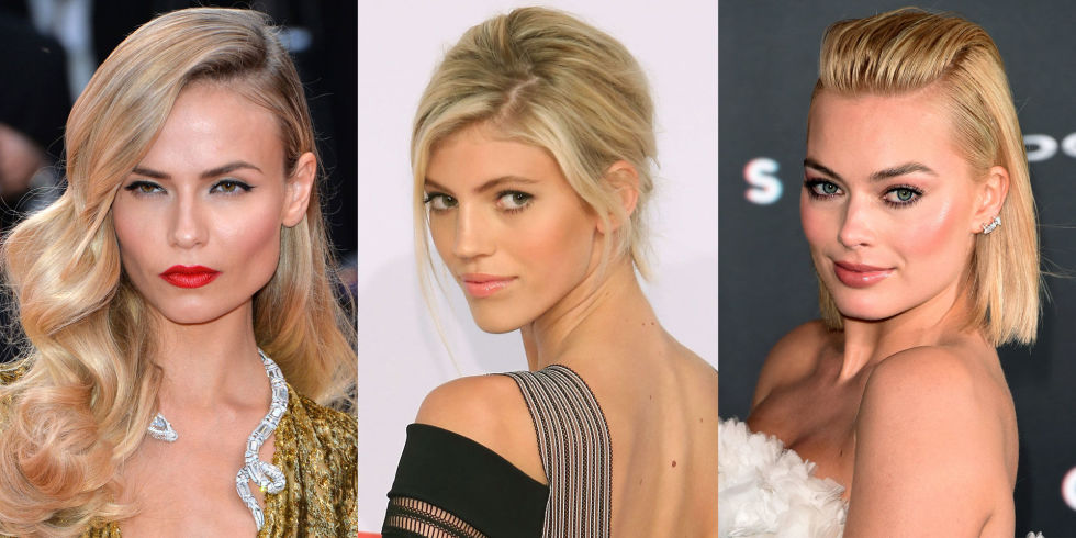 Peachy 36 Blonde Hair Colors For 2017 Best Celebrity Blonde Hairstyles Hairstyles For Women Draintrainus