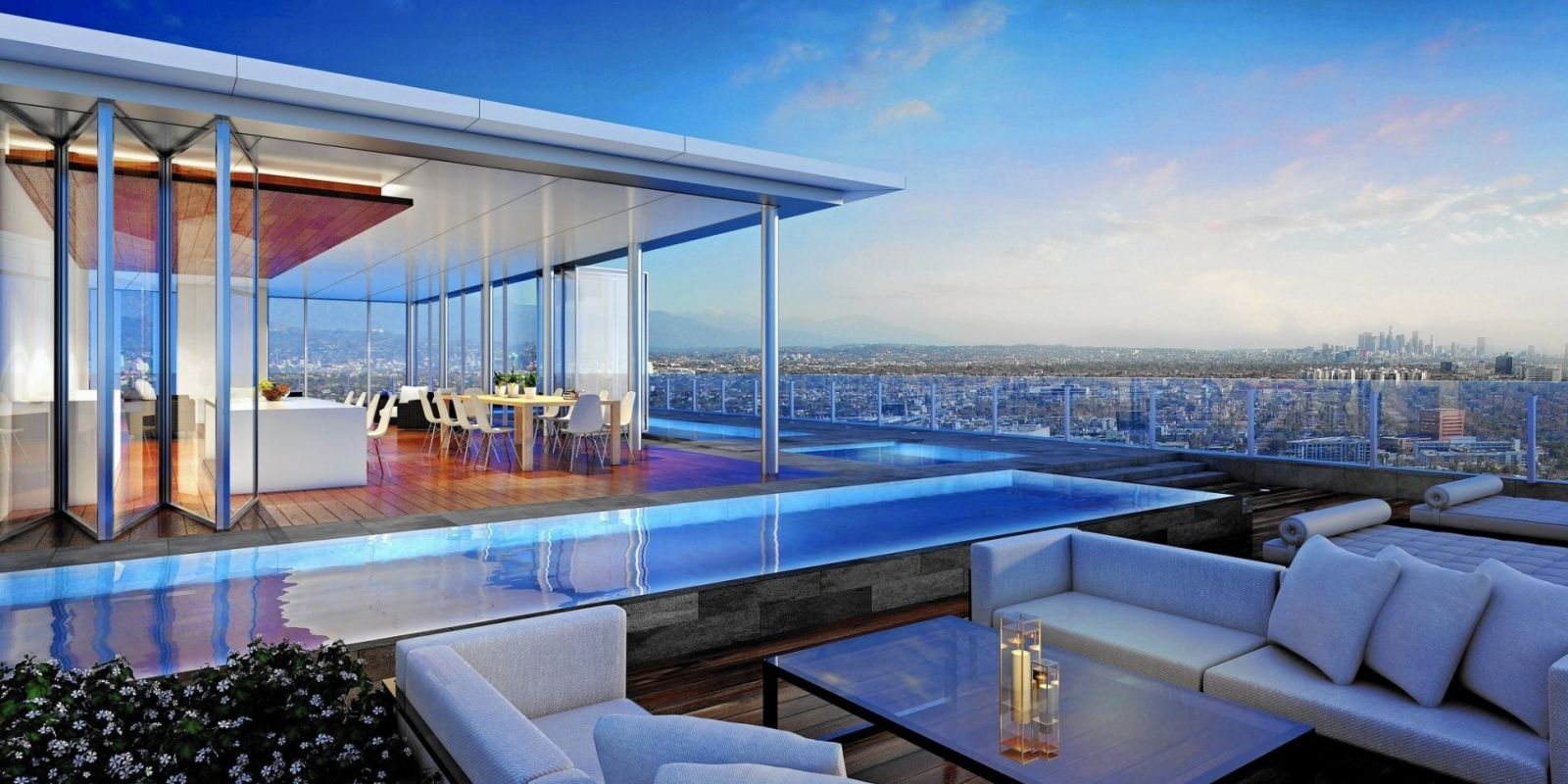 39 paparazzi proof 39 penthouse listed for 50 million for Penthouses in los angeles