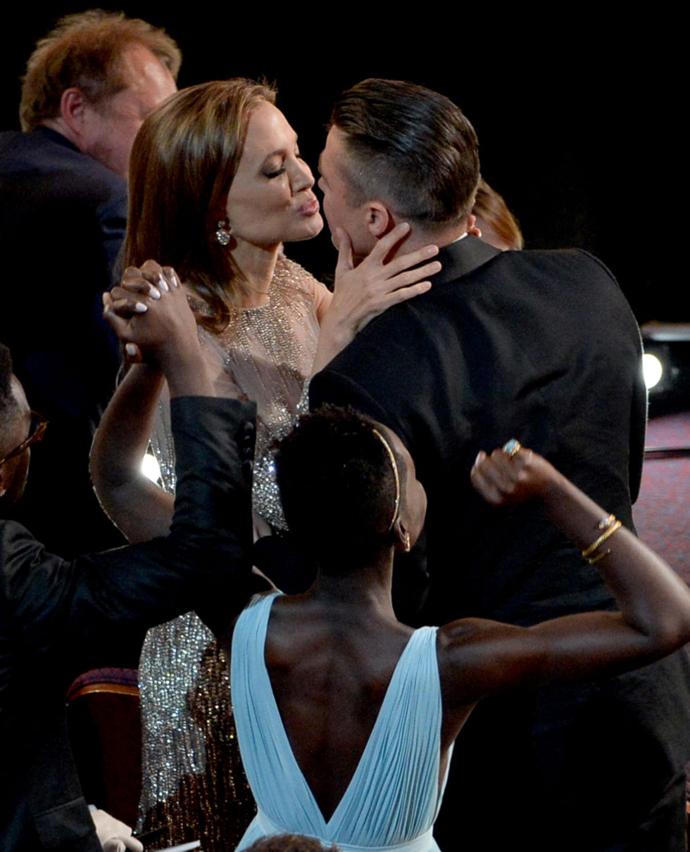 At the 2014 Academy Awards.