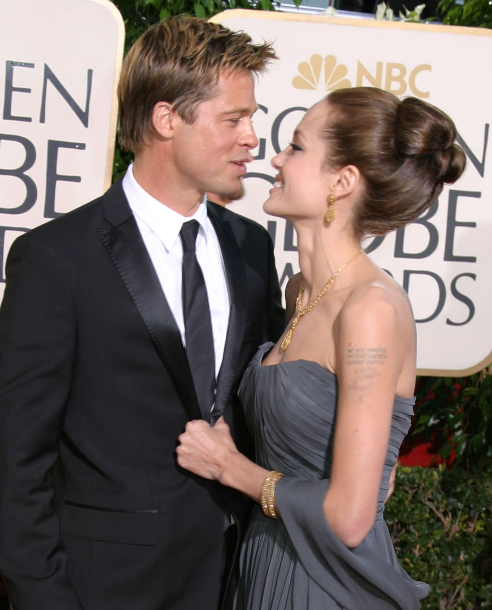 At the Golden Globe Awards.