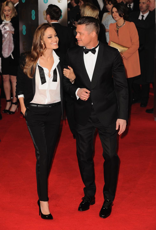 At the British Academy Film Awards.