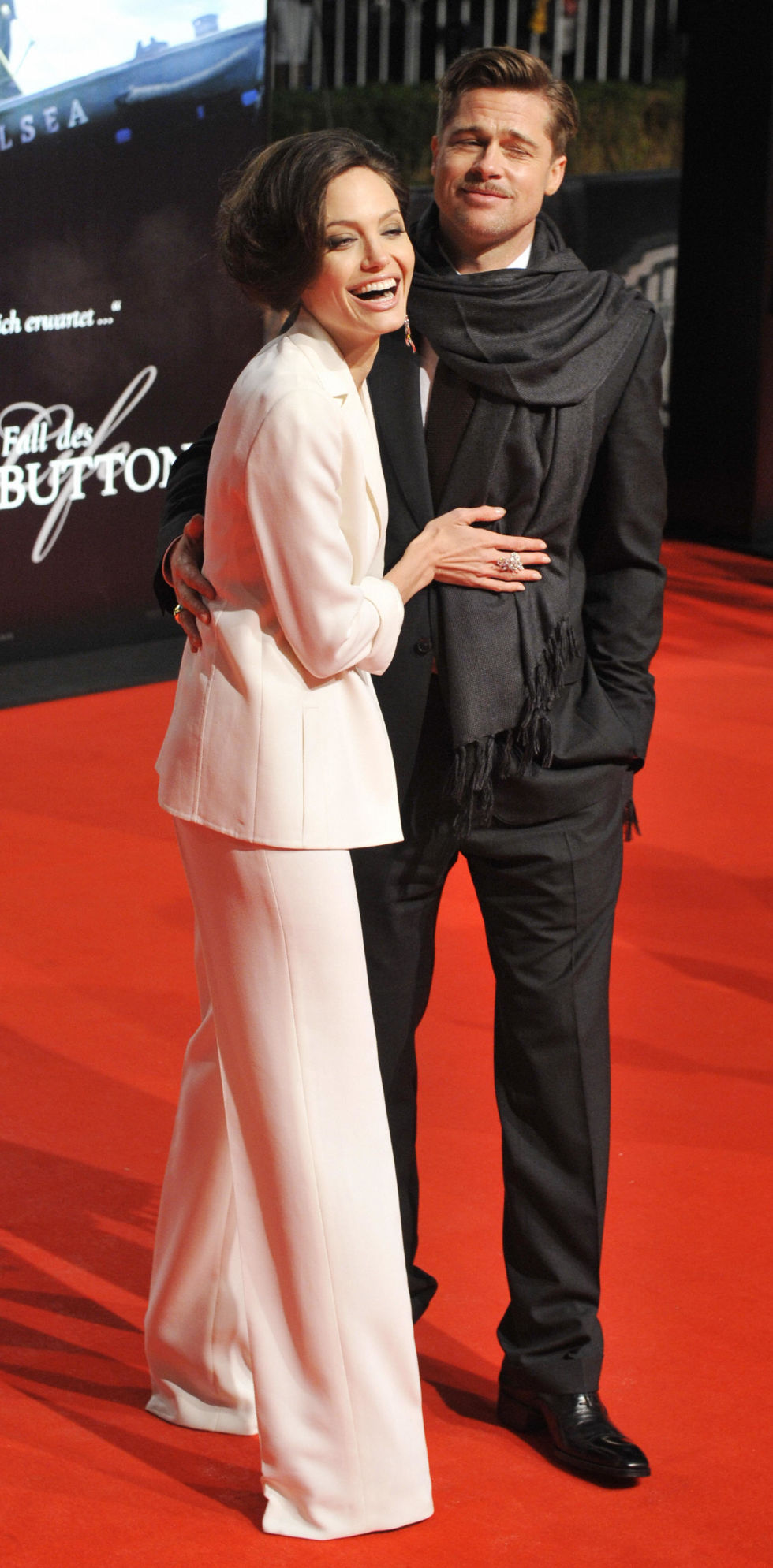 At the Berlin premiere of The Curious Case of Benjamin Button.