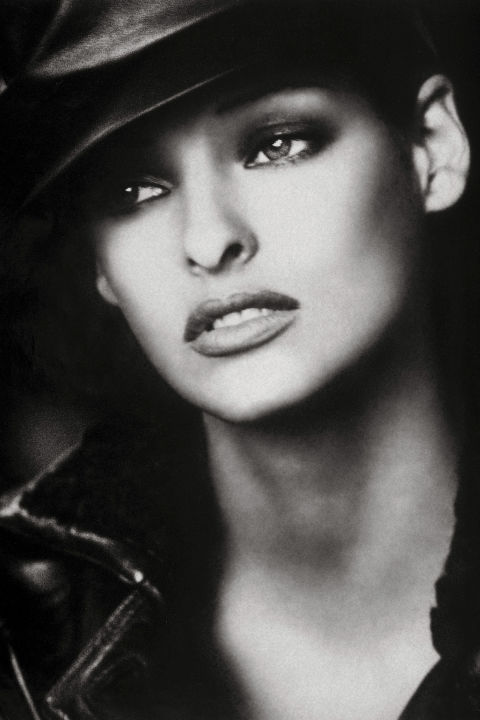 """Photographed for the September 1992 issue by Peter Lindbergh, styled by Paul Cavaco and Tonne Goodman.Fashion photographers adore working with Linda Evangelista in part because she is the industry's ultimate changeling. At one point she dyed her hair 17 times in five years. Of all the original supermodels, Linda was also the most notorious. That's due in large part to a quip she made in a 1990 interview: """"We don't wake up for less than $10,000 a day."""" Linda admits that she had her diva moments, but she was never delusional. """"I climbed the ladder very,very slowly,"""" she says. """"I remember a salon once paid me $400 to put a picture of me with a new haircut in the window, and I was ecstatic,"""" she adds. """"I never dreamed as high as the cover of Bazaar."""""""