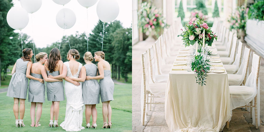 All White Wedding Inspiration White Wedding Decor Ideas