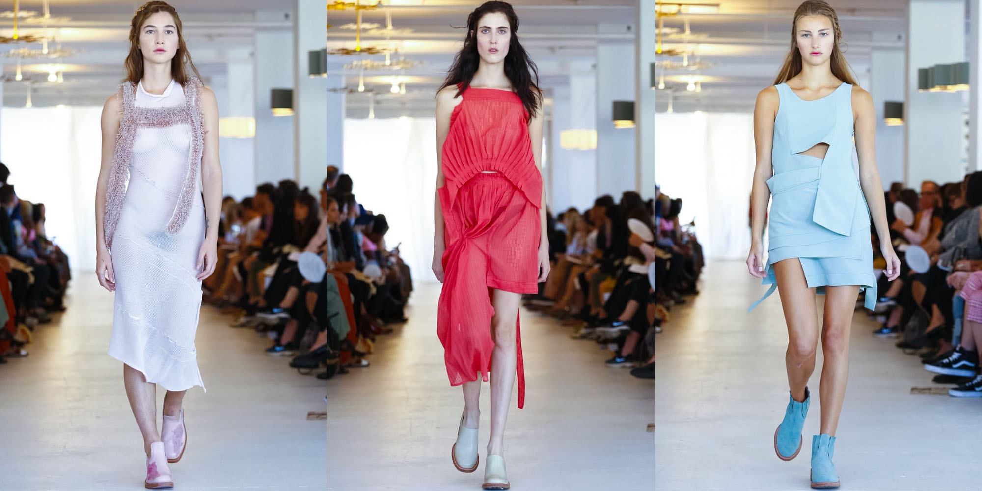 Eckhaus Latta New York Fashion Week Spring 2016 Fashion