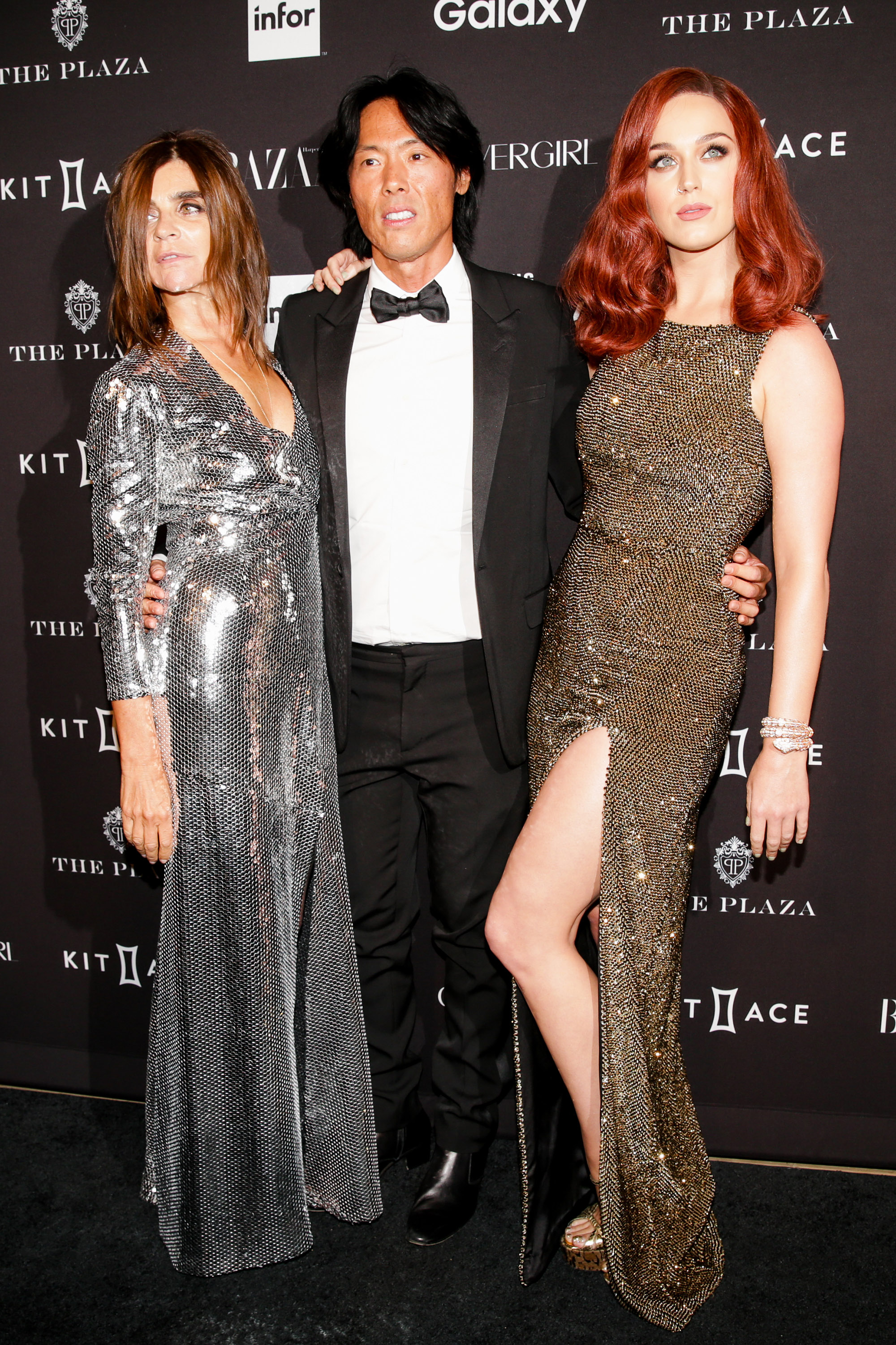 Carine Roitfeld And Katy Perry Harper S Bazaar Icons Party